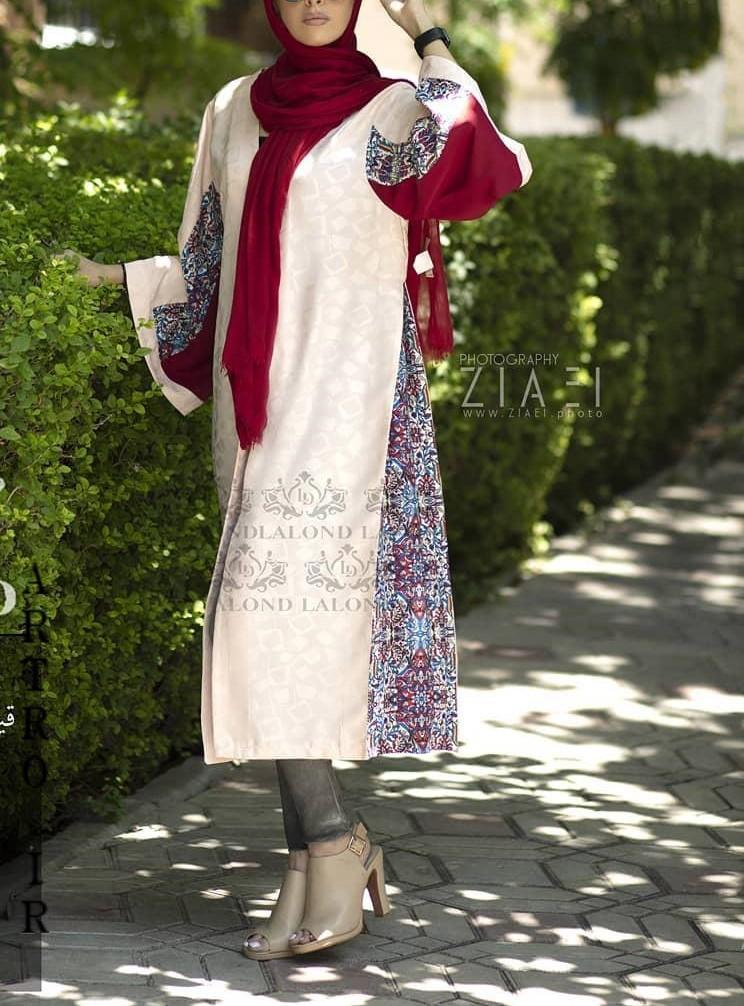 عکس مدل مانتو دخترانه بلند