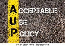 AUP/سیاست استفاده قابل قبول