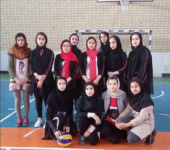 تیم نوجوانان باشگاه تخصصی والیبال ثامن فاروج