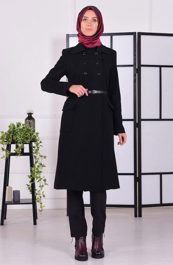 مدل پالتو اسپرت شیک و بلند دخترانه