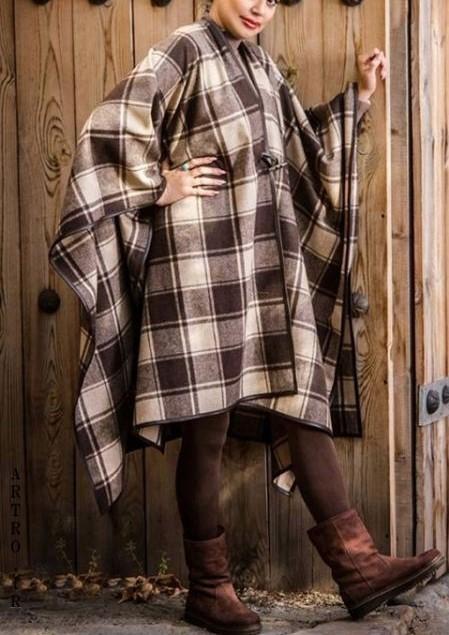 مدل پالتو چهارخونه دخترانه جدید
