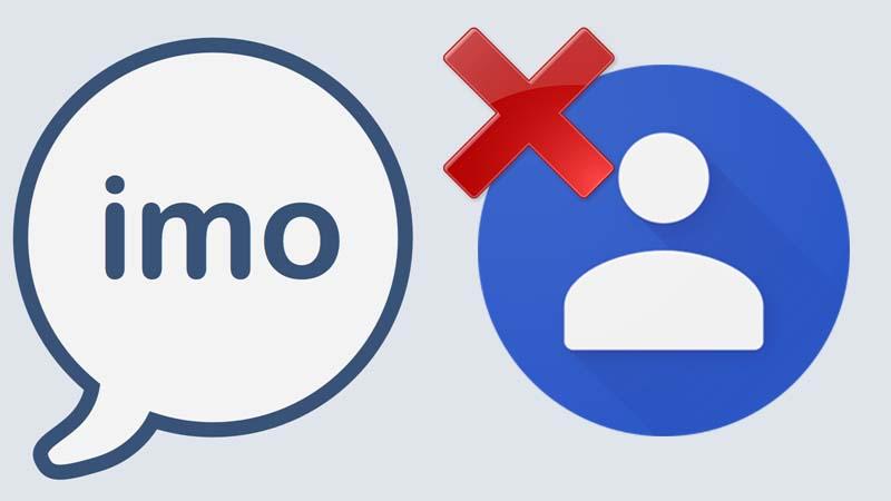 آموزش حذف مخاطب در ایمو به صورت تصویری و آسان