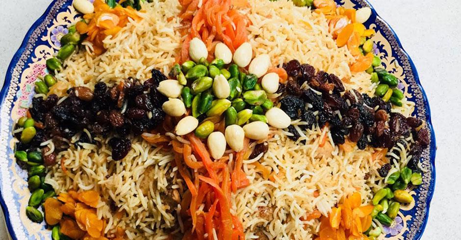 طرز تهیه کابلی پلو یا قابُلی پَلَو غذای آفغانستانی