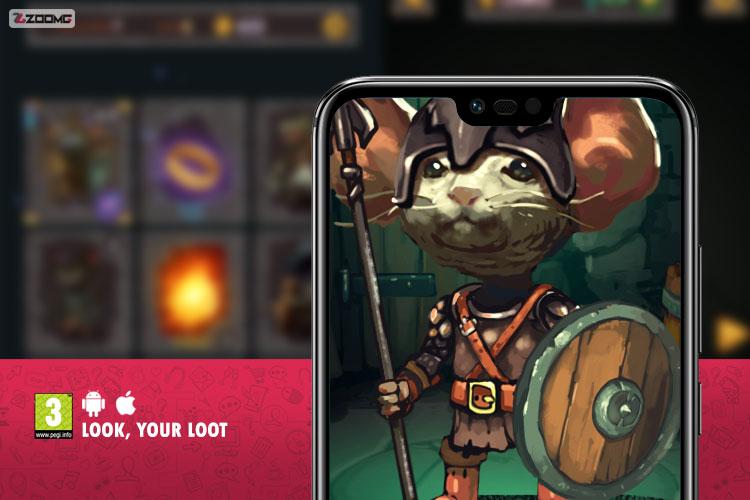 معرفی بازی موبایل Look, Your Loot؛ کارت بازی و معمای پاکسازی سیاهچالها