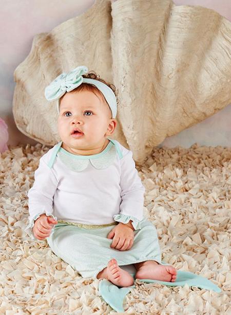 لباس نوزادی دخترانه, لباس پسرانه نوزادی