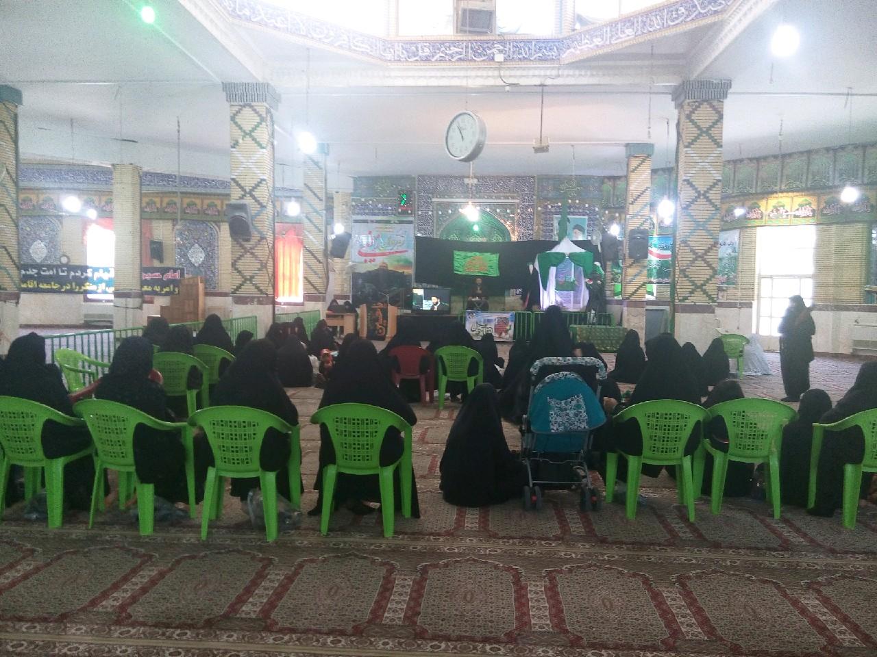 تجمع رهروان زینبی در امامزاده سیدمحمد قهدریجان
