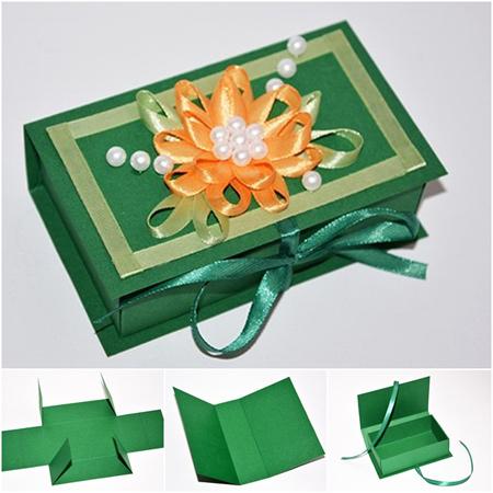 آموزش ساخت جعبه کادو