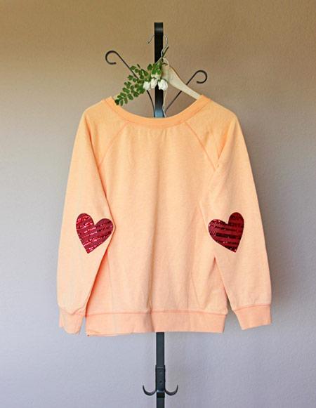 نحوه وصله کردن آستین لباس,درست کردن وصله
