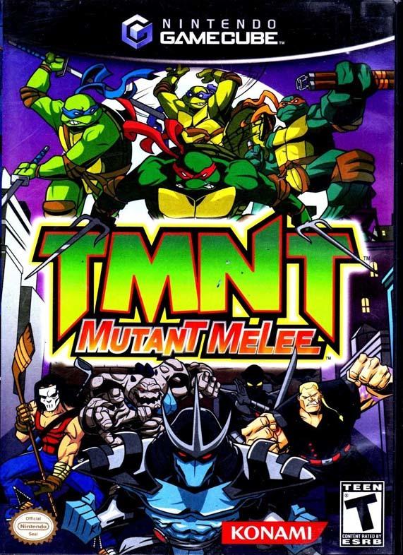 بازی لاک پشت های نینجاTMNT Mutant Melee