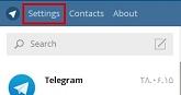 بر روی نسخه ویندوز تلگرام خود رمز عبور بگذارید