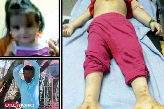قصاص قاتل ملیکای 5 ساله