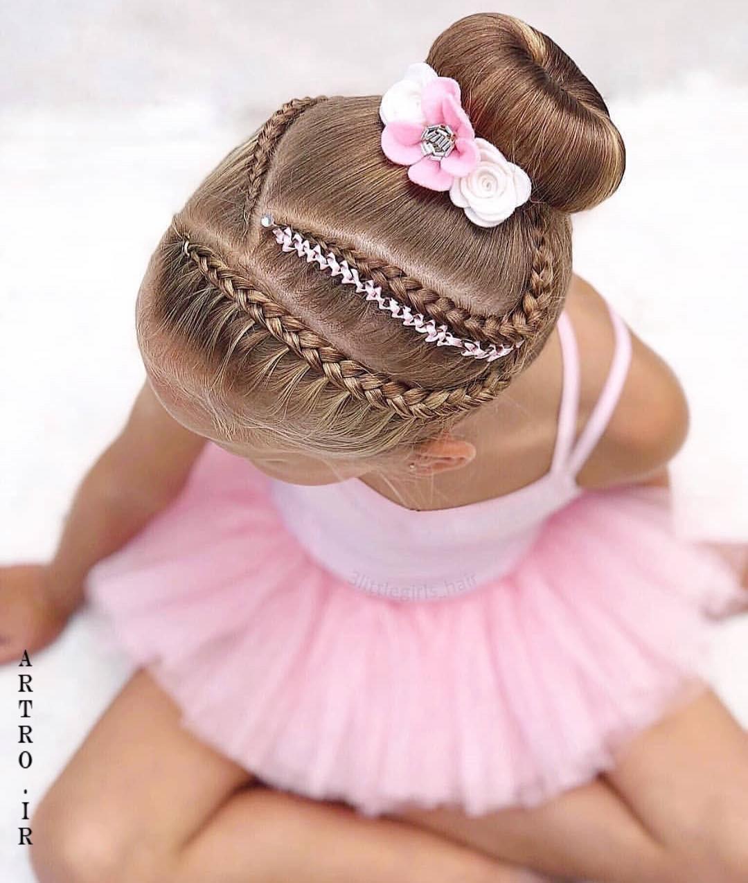 بافت مو جدید دخترانه