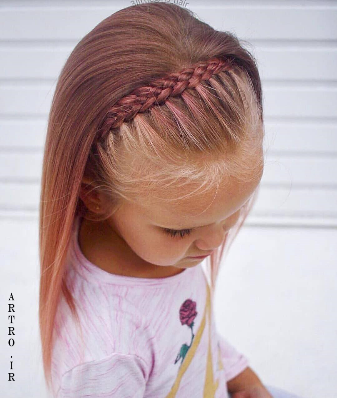 مدل بافت مو دخترانه