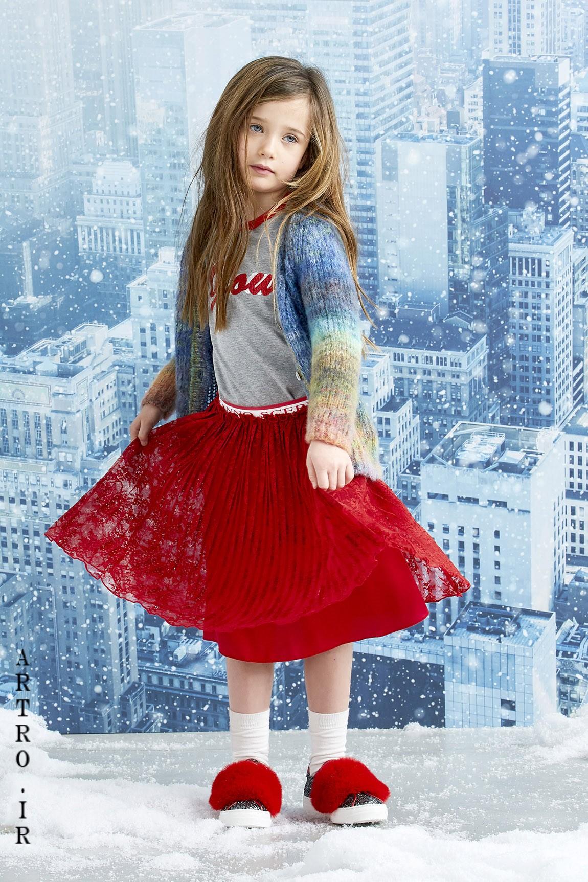 مدل بلوز دامن پاییزی دخترانه