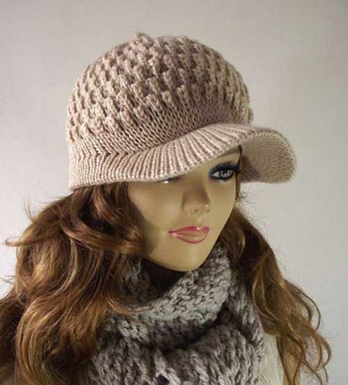کلاه بافتنی زنانه5