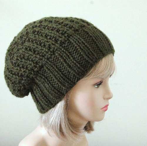 کلاه بافتنی زنانه1