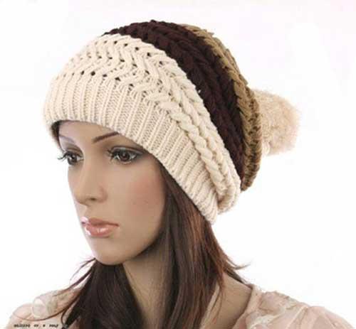 کلاه بافتنی زنانه2