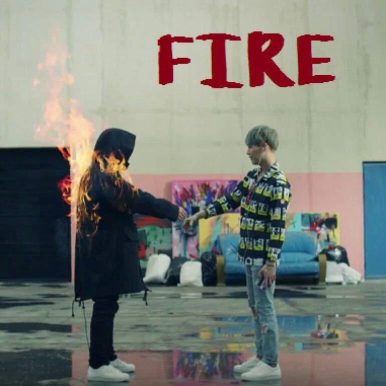 دانلود آهنگ Fire از بی تی اس BTS | با کیفیت 320 و پخش آنلاین
