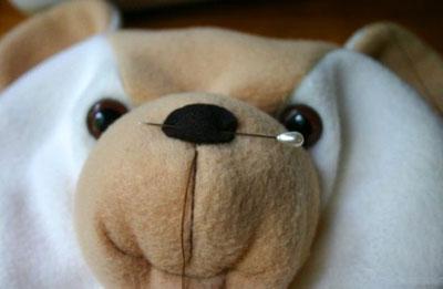 نحوه دوخت خرس عروسکی,آموزش عروسک سازی