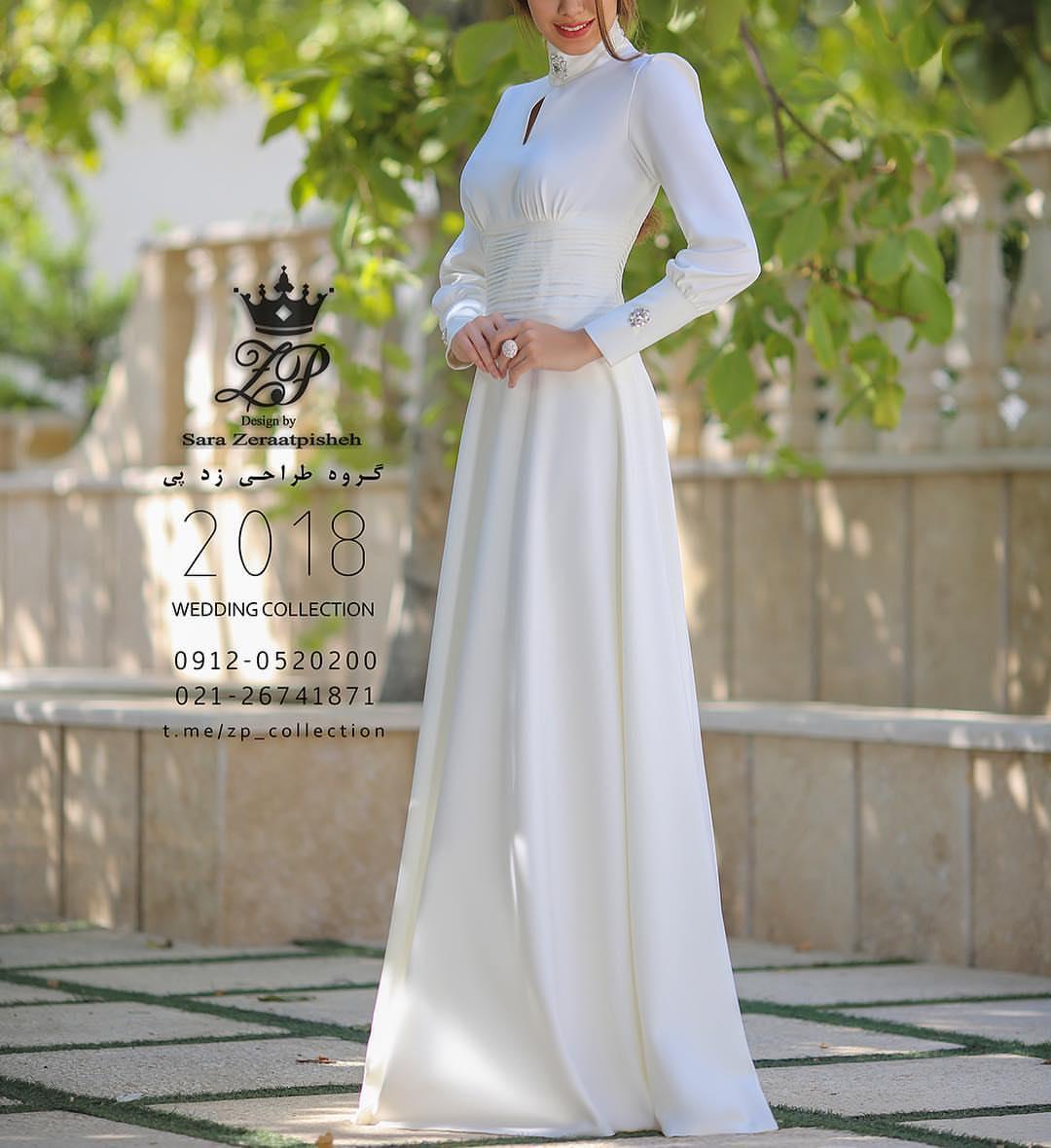مدل لباس عروس ایرانی شیک