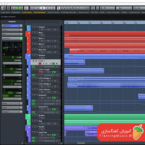آموزش تصویری Tune کردن صدا در نرم افزار Cubase