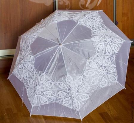 تصاویر چترهای سفید,عکس چتر سفید عروس