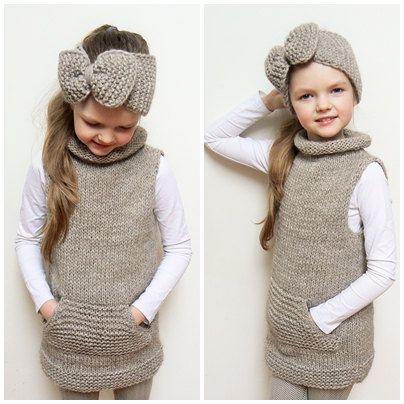 مدل لباس بافتنی بچه گانه دخترانه جدید
