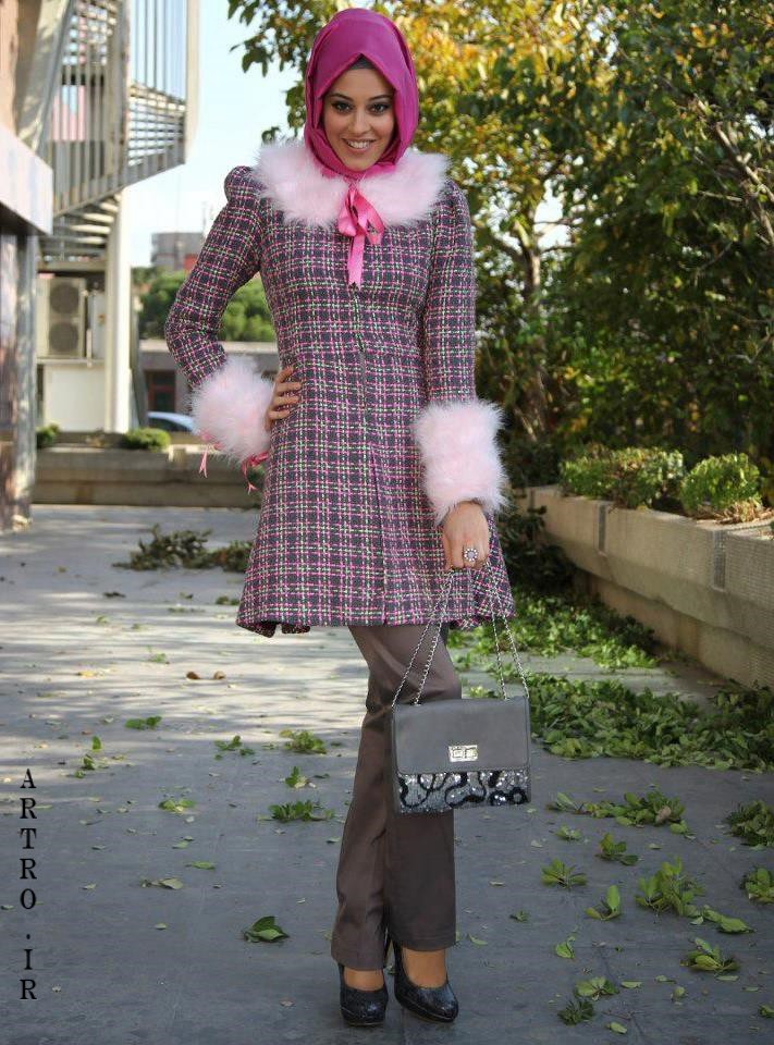 مدل مانتوی پاییزی دخترانه