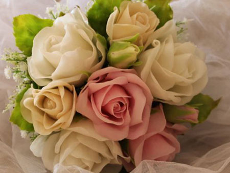 آموزش گل های چینی, ساخت خمیر گل های چینی