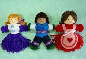 آموزش تصویری درست کردن عروسک کاموایی بدون بافت