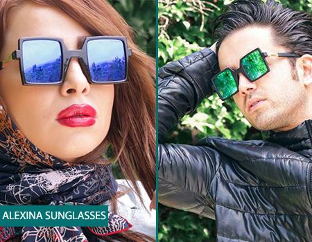 عینک آفتابی اسپورت مربعی مردانه نانه آلکسینا