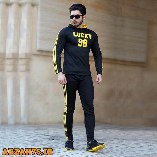 ست سویشرت و شلوار مدل LUCKY,سوییشرت مردانه,تیشرت مردانه,تیشرت خوشکل مردانه
