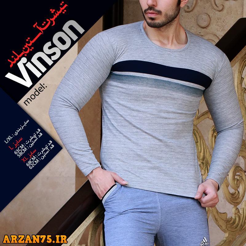 تیشرت آستین بلند مدل vinson,تیشرت مردانه,تیشرت آستین بلند مردانه,مدل جدید تی شرت آستین بلند