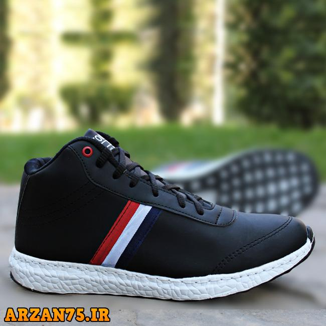کفش مردانه ساق دار مدل Tommy,کفش ساقدار مردانه,کتونی ساقدار مردانه,مدل جدید کفش مردانه,