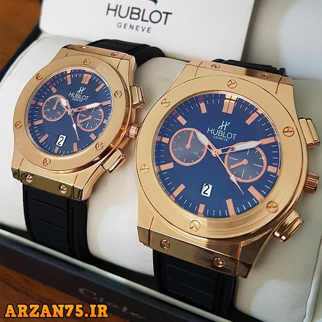 ست ساعت مچی Hublot مدل Grand,ست ساعت مچی,ساعت زوجی,مدل جدید ساعت زوجی ست,مدل جدید ساعت مچی زوجی hublot