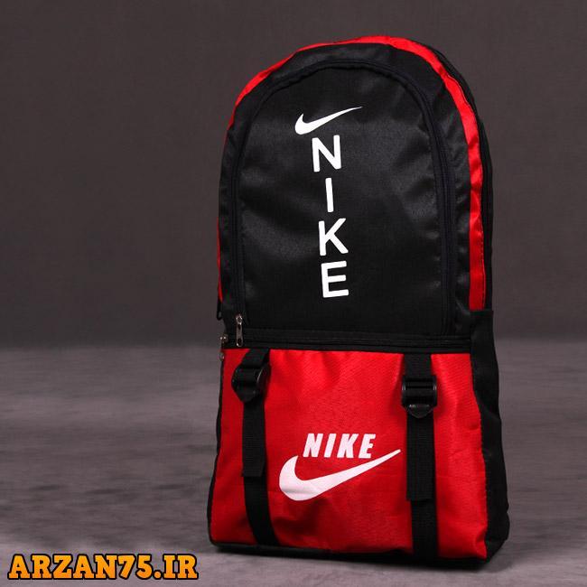 کوله پشتی nike مدل ANSEL رنگ قرمز,کوله پشتی مدل nike,مدل جدید کوله پشتی نایک,کوله پشتی ورزشی نایک قرمز رنگ