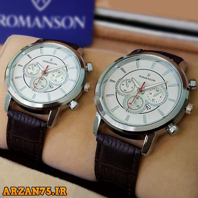 ست ساعت مچیRomanson مدل Ramona,ست ساعت زوجی رومانسون,مدل جدید ساعت زوجی اورجینال,ست ساعت مردانه و زنانه Romanson
