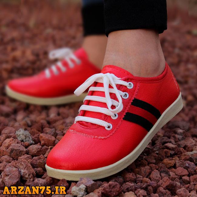 خرید کفش دخترانه مدل SANDRA رنگ قرمز