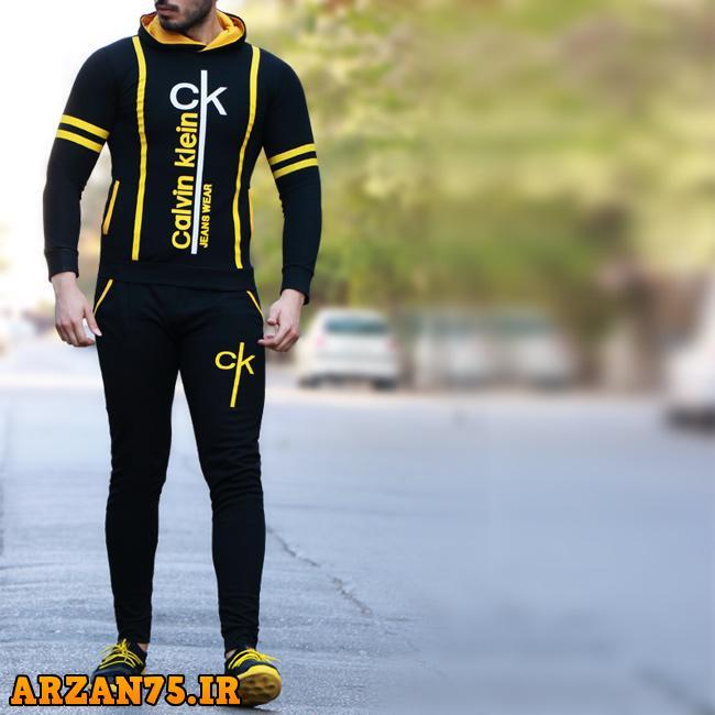 ست سوییشرت و شلوار مردانه مدل Ck,مدل جدید ست سوییشرت و شلوار مردانه,ست سوییشرت و شلوار مردانه