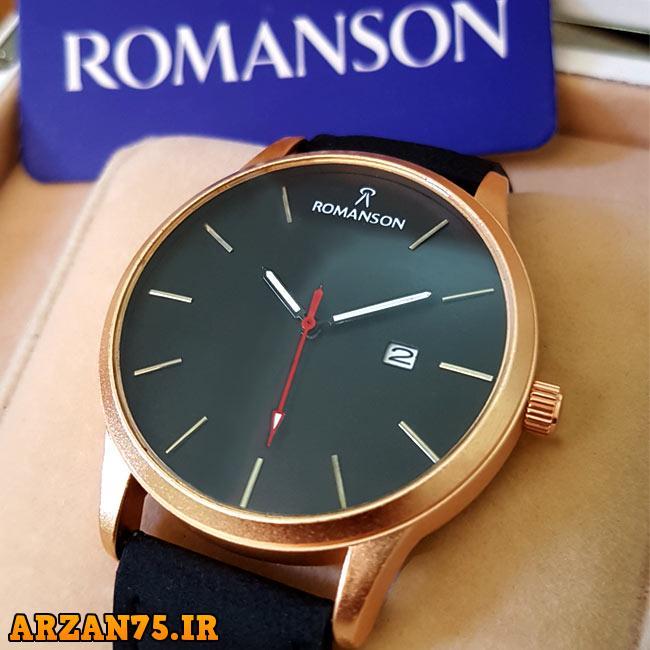 خرید ساعت مچی مدل Romanson بند مشکی