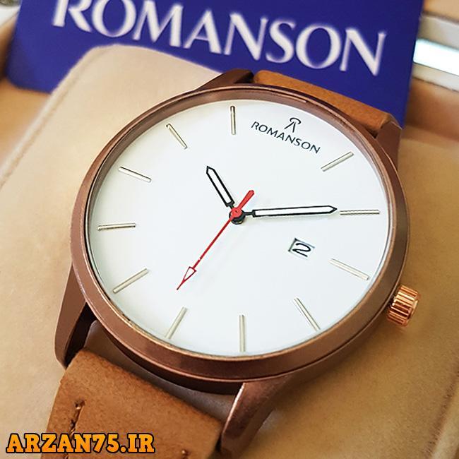 خرید ساعت مچی مدل Romanson بند عسلی