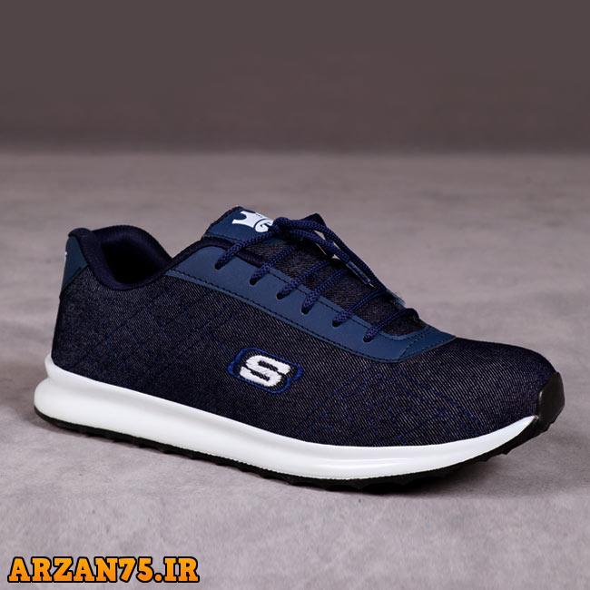 خرید کفش مردانه مدل salamon آبی