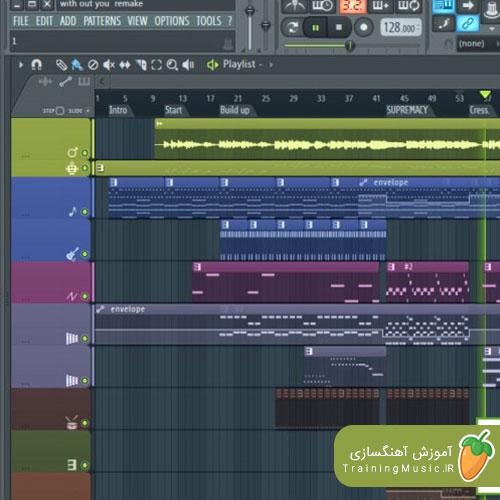 آموزش تصویری ضبط صدا در افال استودیو