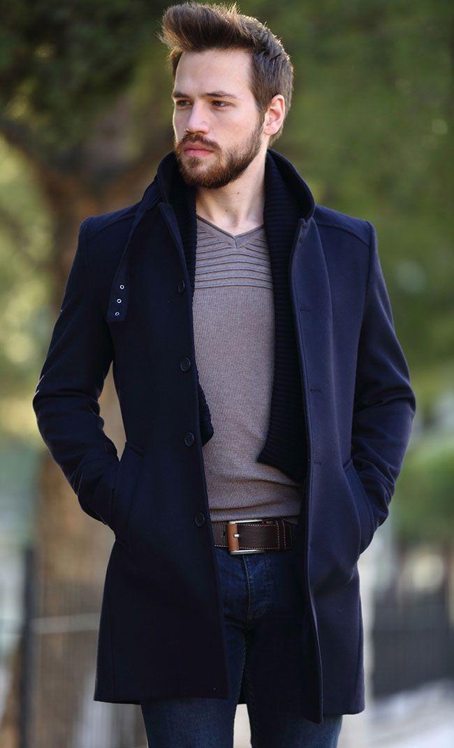 مدل لباس زمستانی مردانه پالتو 1