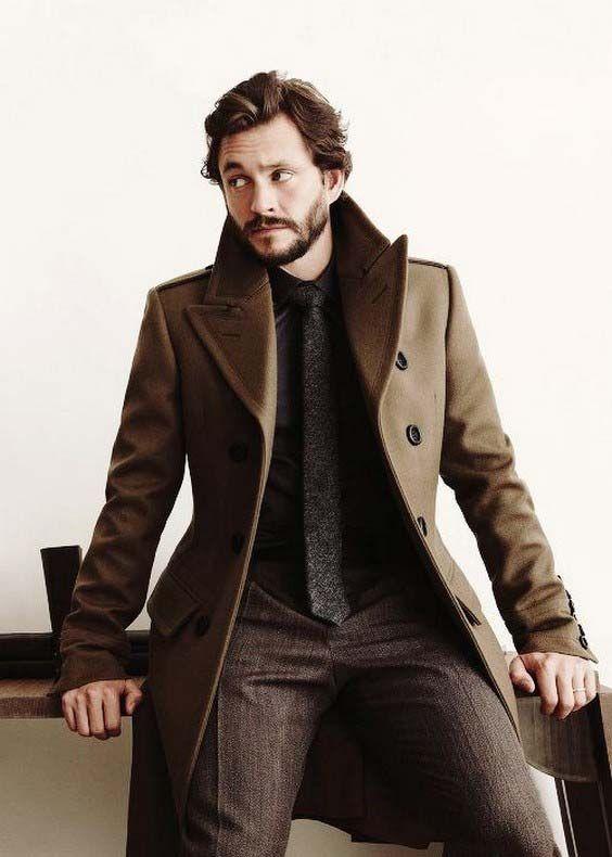 مدل لباس زمستانی مردانه پالتو 3