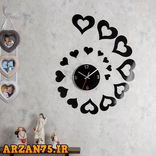 ساعت دیواری مدل قب باران,ساعت دیواری طرح قلب,ساعت دیواری جدید طرح باران,ساعت دیواری دکوراتیو طرح قلب,مدل جدید ساعت دیواری طرح قلب,ساعت دیواری طرح قلب مخصوص اتاق خواب