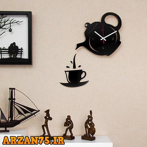 ساعت دیواری مدل قوری و فنجان,ساعت دیواری مخصوص رستوران ها,ساعت دیواری مخصوص آشپزخانه,ساعت دیواری مدل قوری و فنجان,ساعت دیواری مخصوص قهوه خانه ها