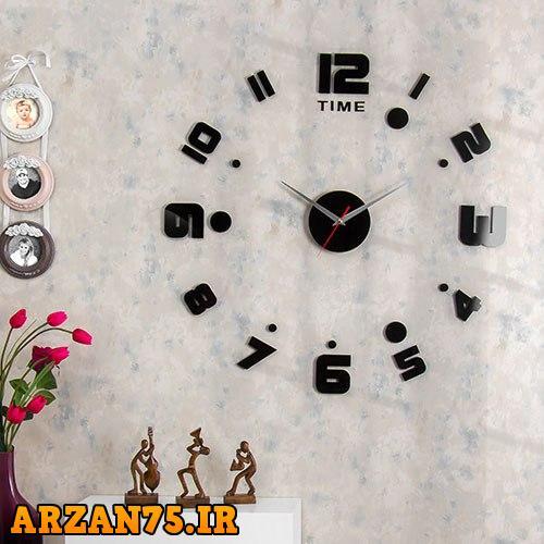 ساعت دیواری مدل ریتم,مدل جدید ساعت دیواری,ساعت دیواری جدید,ساعت دیورای رنگ مشکی