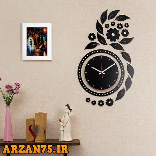 ساعت دیواری مدل سوسن,ساعت دیواری ,ساعت دیواری جدید,مدل جدید ساعت دیواری