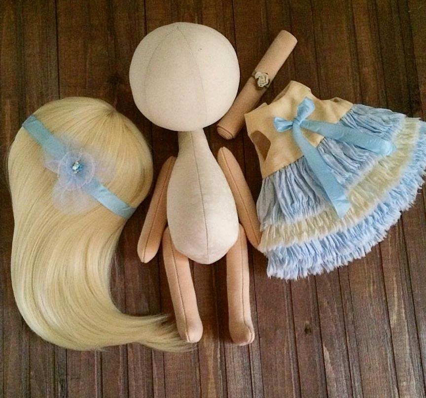 طریقه درست کردن عروسک روسی